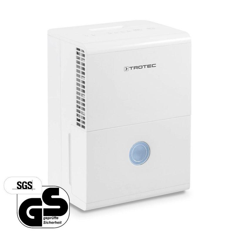 Dezumidificator Trotec TTK28e, 10l/zi, debit 100mc/h, pentru spatii de pana la 15mp, higrostat reglabil, functie auto-restart la pret mic