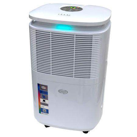 Dezumidificator ieftin de aer ARGO LILIUM EVO 11 - 11 l/24h, higrostat digital, garantie 3 ani, functie uscare rufe, debit de aer: 120mc/ora, timer 1-24h, mod automat, atentionare rezervor plin, afisaj digital la pret bun