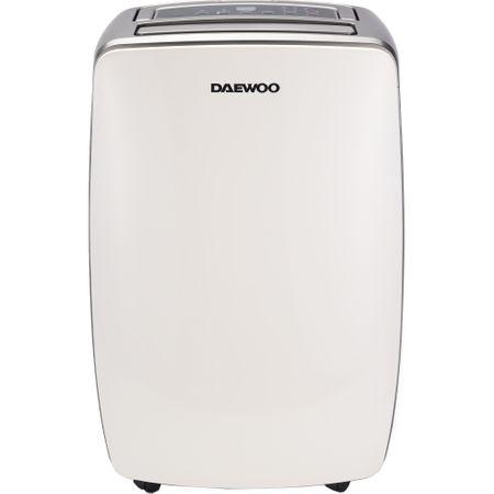 Dezumidificator Daewoo DDH20W, 20 l/24h, 350 W, capacitate recipient 5.5 litri, filtru lavabil, timer 24h, suprafata dezumidificare 40 mp, display Led la pret bun