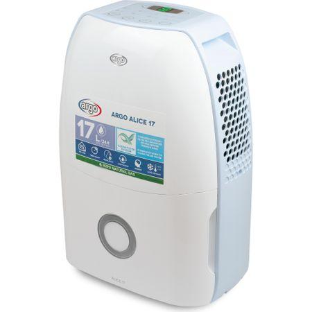 Dezumidificator de aer ARGO Alice17 - 17l / 24h, higrostat incorporat, panou de control digital, timer, filtru lavabil de purificare ieftin