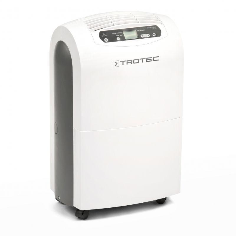 Dezumidificator Trotec TTK100e, 30 litri/zi, 220mc/ora, pentru spatii de pana la 90mp, display digital, timer ieftin