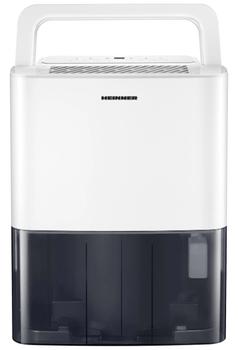 HDU-M10 este cel mai ieftin dezumidificator Heinner, avand un pret cu reducere mai mic de 600 lei. Totusi, are specificatii bune, putand extrage 10 litri pe zi la o suprafata de cel mult 31 metri patrati!