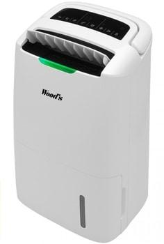 Woods AD30G are un indicator de calitate a aerului, timer si filtru HEPA, putand extrage pana la 25 litri intr-o singura zi, la un pret redus!